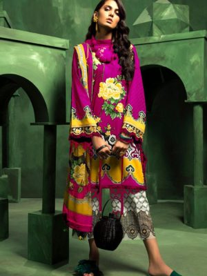 Zaha Luxury Embroidered Winter Linen Collection Replica