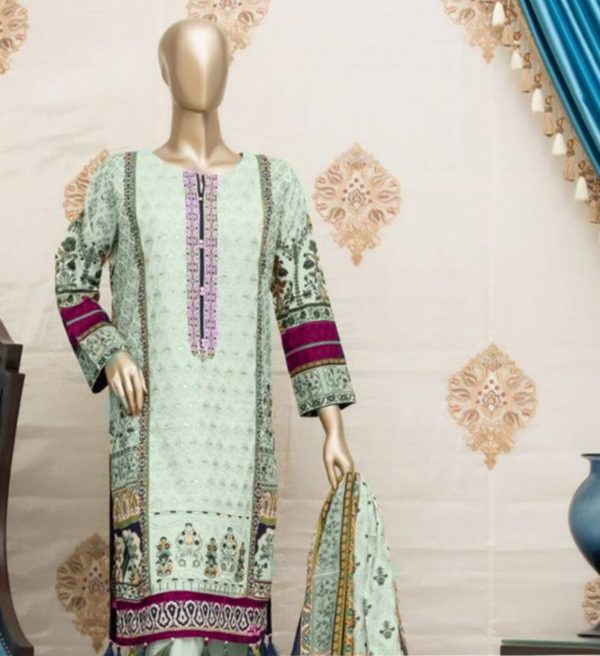Designer Latest Embroidered Lawn Collection Master Replica 2019