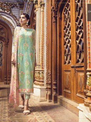 Alkaram Latest Embroidered Lawn Collection Master Replica 2019