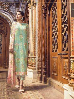 Alkaram Latest Embroidered Lawn Collection Master Replica 2019