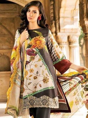 Charizma Latest Embroidered Lawn Collection Replica 2019