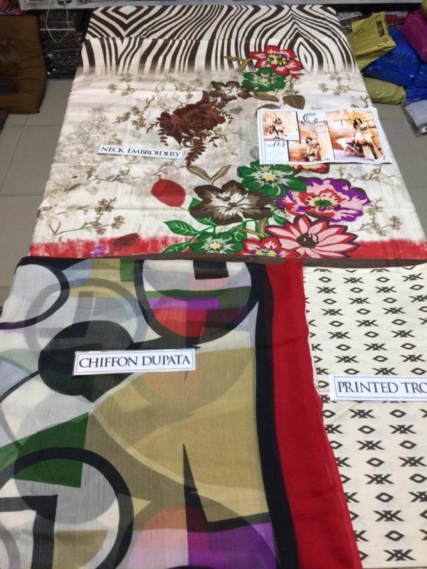 Charizma Latest Embroidered Lawn Collection Master Replica 2019