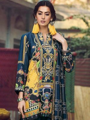 Rajbari Latest Embroidered Lawn Collection Master Replica 2019