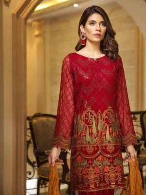 Jazmin Latest Embroidered Lawn Collection Master Replica 2019