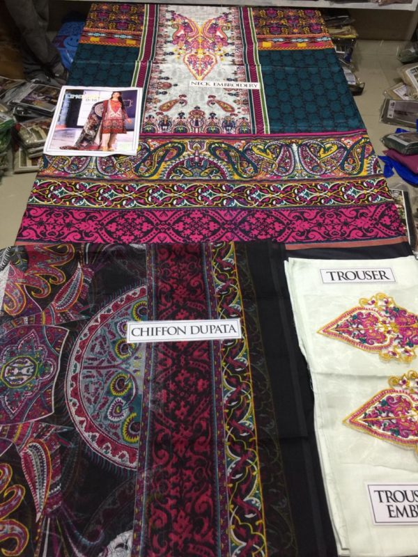 Limelight Latest Embroidered Lawn Collection Replica