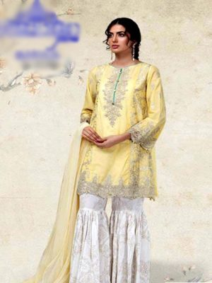 Maria b Latest Embroidered Lawn Collection Master Replica 2019