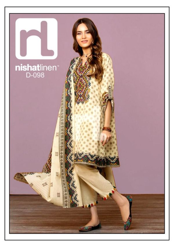 Nishat Latest Embroidered Lawn Collection Master Replica 2019