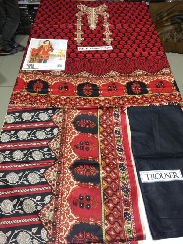 Okas Latest Embroidered Lawn Collection Master Replica 2019