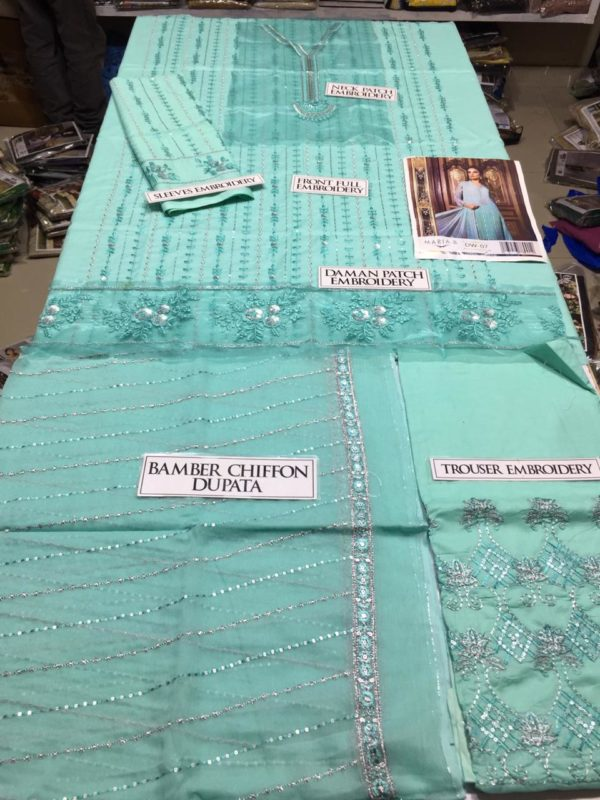 Maria b Latest Embroidered Lawn Collection Replica 2019