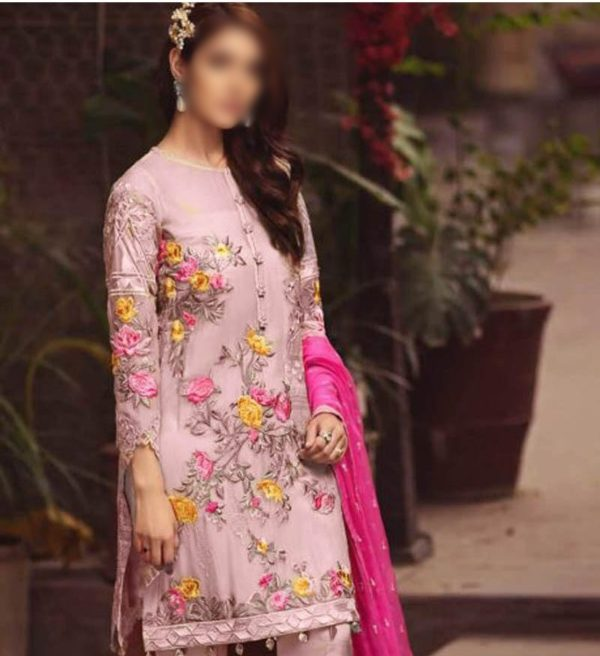 Serene Latest Embroidered Lawn Collection Master Replica 2019