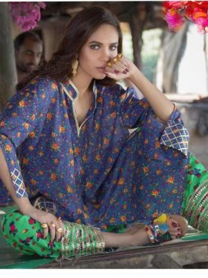Sobia nazir latest embroidered lawn master replica