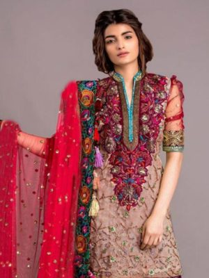 Tabasum mughal Latest Embroidered Lawn Collection Master Replica