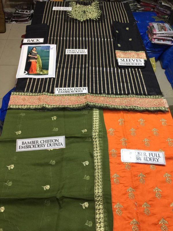 Zainab Chottani Latest Embroidered Lawn Master Replica 2019