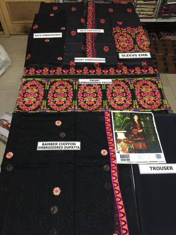 Bareeze Latest Embroidered Lawn Collection Master Replica 2019