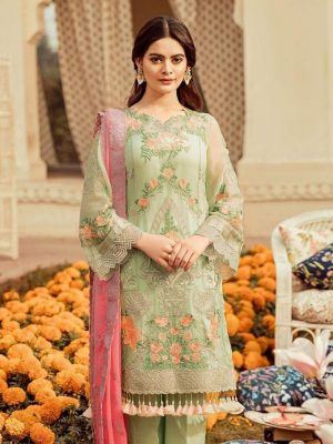 Imrozia Latest Embroidered Lawn Collection Master Replica 2019