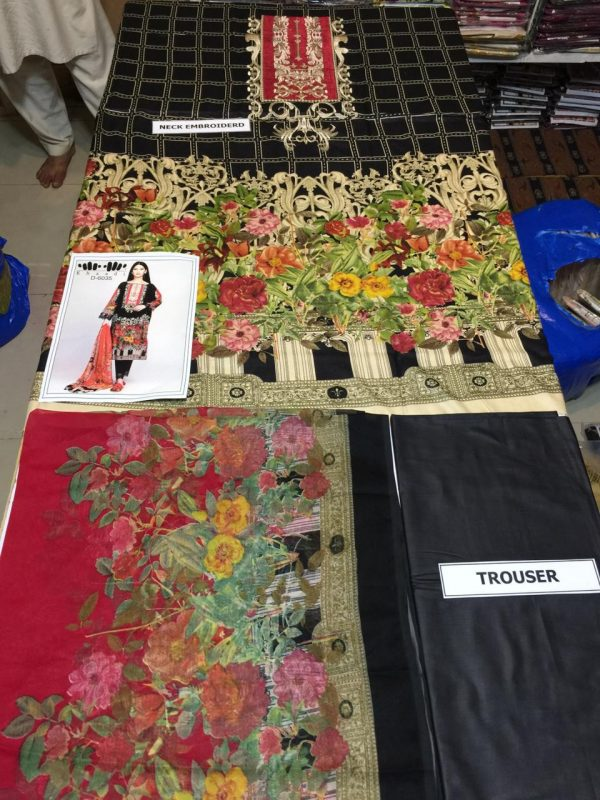 khaadi Latest Embroidered Master Replica of lawn 2019