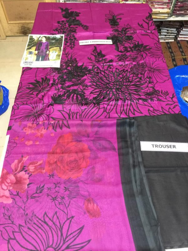 Limelight Latest Embroidered Lawn Master Replica 2019