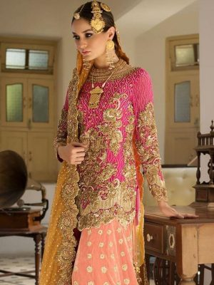 Nomi ansari Latest Embroidered Lawn Collection Master Replica 2019