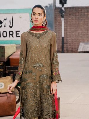 Zainab Chottani Embroidered Lawn Master Replica 2019
