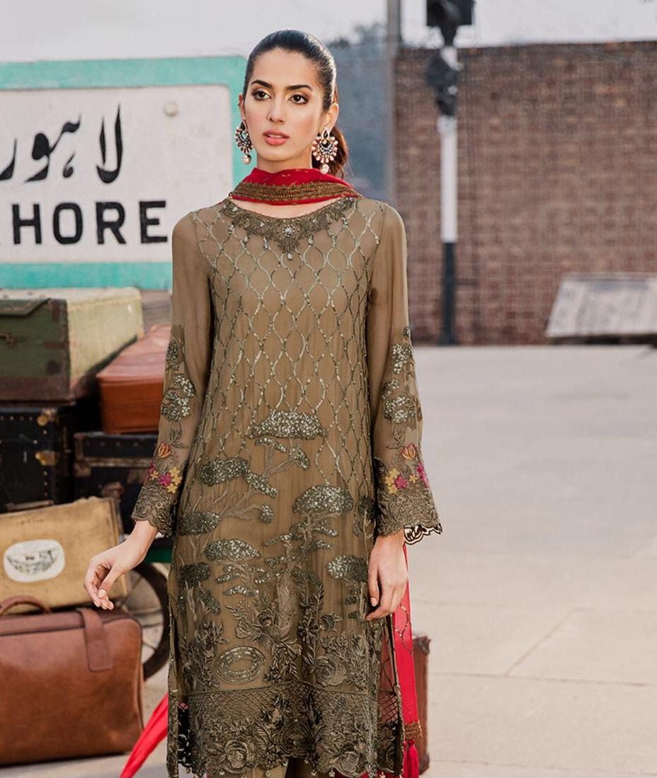 9a4020b403 Zainab Chottani Embroidered Lawn Master Replica 2019