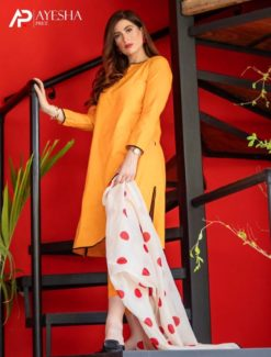 Mustard Yellow Stitched Suit