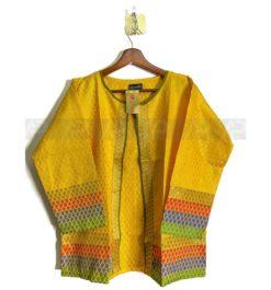 Designer Multi Color Cotton Jacket