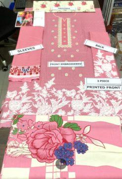 Maria B. Linen Embroidered Winter Collection Replica 2021
