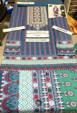 Khaadi Dhanak Winter Collection Replica 2021