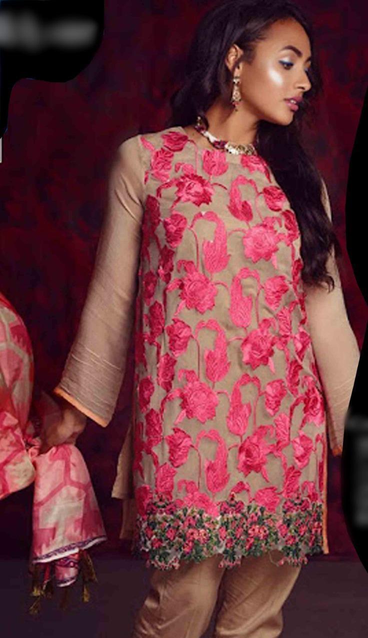 Sana Safinaz Linen Winter Collection Replica 2021